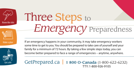 Emergency Preparedness Week May 1-7